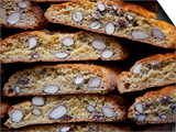 Italy, Florence, Western Europe, 'Cantuccini', Typical Tuscan Biscuits Poster by Ken Scicluna