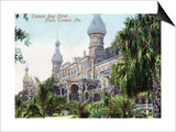 Tampa, Florida - Tampa Bay Hotel Entrance View Posters by  Lantern Press