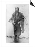 Comanche Chief Quanah Parker Photograph Posters