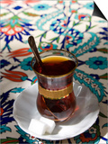 Turkish Tea, Istanbul, Turkey Kunstdrucke von Peter Adams