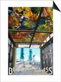 Tacoma, Washington - Bridge of Glass Print by  Lantern Press