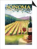 Sonoma County, California Wine Country Prints