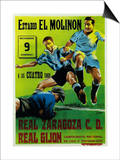 Futbol Promotion - Estadio El Molinon Prints by  Lantern Press