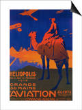 Cairo, Egypt - French Airline Promotional Poster Posters by  Lantern Press