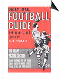 Daily Mail, Football Guide 1964-65 Print