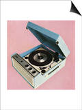 1960's Portable Record Player Posters