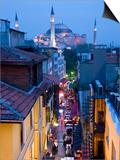 Hagia Sophia, Sultanahmet District, Istanbul, Turkey Poster von Peter Adams