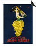 France - Joseph Perrier Champagne Promotional Poster Prints by  Lantern Press