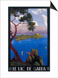 Italy - Lake Garda Travel Promotional Poster Posters by  Lantern Press