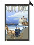 Cliff House, San Francisco, California Prints by  Lantern Press