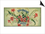 Reveil De Printemps Soap Label - Paris, France Prints by  Lantern Press