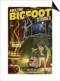 Amazing Bigfoot Stories Print by  Lantern Press