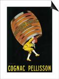 Cognac Pellisson Promotional Poster - France Poster by  Lantern Press