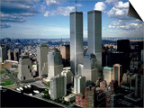 Elaborate City Skyline of New York, New York Art