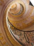 Austria, Wachau, Melk, the Abbey, Stairway in the Abbey Posters by Steve Vidler