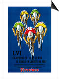 Lantern Press - Bisiklet Yarışı Promosyonu - Poster
