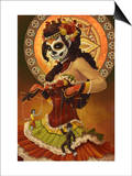 Day of the Dead - Marionettes Art by  Lantern Press