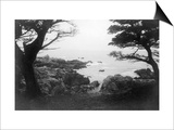 View of Monterey Bay from 17 Mile Drive - Carmel, CA Posters by  Lantern Press