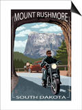 Mount Rushmore National Memorial, South Dakota - Tunnel Scene Art by  Lantern Press