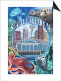 Seattle Aquarium - Seattle, WA Posters
