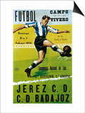 Futbol Promotion - Campo Del Vivero Print by  Lantern Press