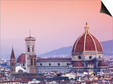 Italy, Florence, Western Europe, the 'Duomo' of Which the Cupola Is Designed by Famed Italian Archi Prints by Ken Scicluna