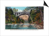 Philadelphia, Pennsylvania - Walnut Lane Bridge over Wissahickon River Poster by  Lantern Press