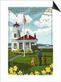 Mukilteo Lighthouse - Mukilteo, Washington Posters by  Lantern Press