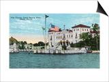 Miami, Florida - Villa Vizcaya, James Deering Estate Scene Posters by  Lantern Press