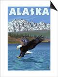 Bald Eagle, Alaska Poster