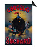 Chocolat Suchard Vintage Poster - Europe Posters by  Lantern Press