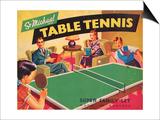 Table Tennis Print