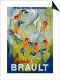 Limonade Brault Vintage Poster - Europe Prints