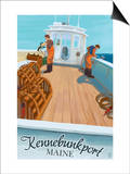 Kennebunkport, Maine - Lobster Boat Posters by  Lantern Press
