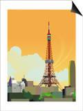 Tokyo Tower, Japan Prints