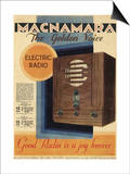 Good Radio is a Joy Forever, Macnamara Radio Posters