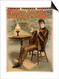 Sherlock Holmes Theatrical Play Poster No.1 Prints