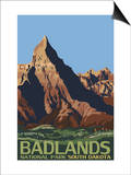 Badlands National Park, South Dakota Art