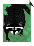 A Raccoon Art