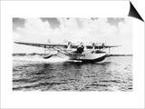 China Clipper flying out of Miami, Fl Photograph - Miami, FL Prints by  Lantern Press