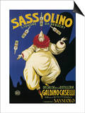 Italy - Sassolino Liquore da Dessert Promotional Poster Prints by  Lantern Press
