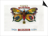 Buzzer Cigar Box Label Posters by  Lantern Press