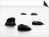 Five Rocks, Iceland Prints by Nadia Isakova