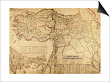 Turkey, Ottoman Empire - Panoramic Map Posters by  Lantern Press