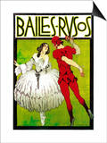 Bailes Rusos (Russion Dance) Theater Prints by  Lantern Press
