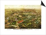 Nashville, Tennessee - Nashville Exposition Poster by  Lantern Press