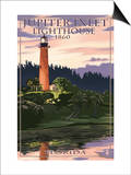 Jupiter Inlet Lighthouse - Jupiter, Florida Prints