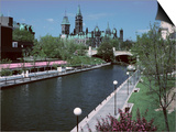 Beautiful Rideau Canal in Ottawa, Ontario, Canada Posters