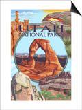 Utah National Parks - Delicate Arch Center Art