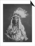 Weasel Tail Piegan Indian Native American Curtis Photograph Prints by  Lantern Press
